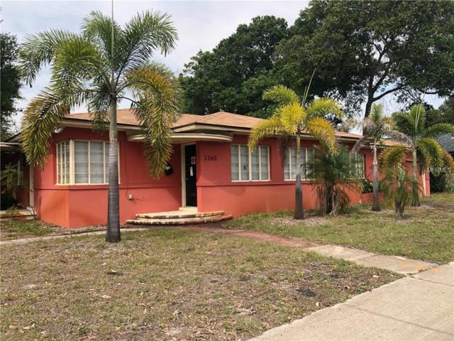 2365 5TH Avenue N, St Petersburg, FL 33713 (MLS #U8045182) :: Lockhart & Walseth Team, Realtors