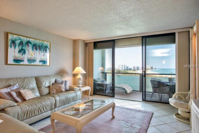 450 S Gulfview Boulevard #1207, Clearwater, FL 33767 (MLS #U8045302) :: Paolini Properties Group