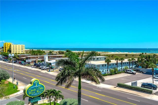 11605 Gulf Boulevard #504, Treasure Island, FL 33706 (MLS #U8051157) :: The Figueroa Team