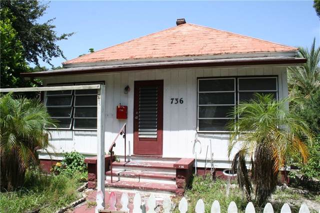 736 5TH Street N, St Petersburg, FL 33701 (MLS #U8052304) :: Mark and Joni Coulter | Better Homes and Gardens
