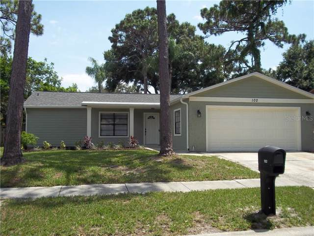 102 Hillcrest Drive, Safety Harbor, FL 34695 (MLS #U8052635) :: Charles Rutenberg Realty