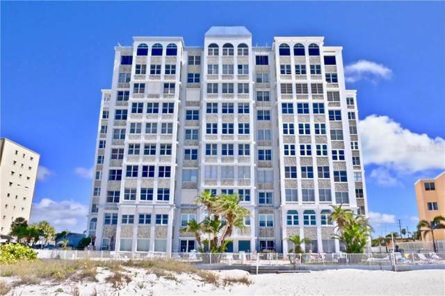 4950 Gulf Boulevard #709, St Pete Beach, FL 33706 (MLS #U8055200) :: 54 Realty