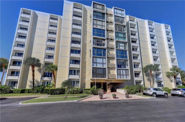 830 S Gulfview Boulevard #705, Clearwater, FL 33767 (MLS #U8055550) :: White Sands Realty Group