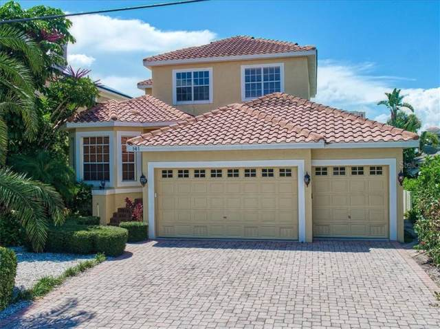 141 Bayside Drive, Clearwater, FL 33767 (MLS #U8055705) :: Cartwright Realty