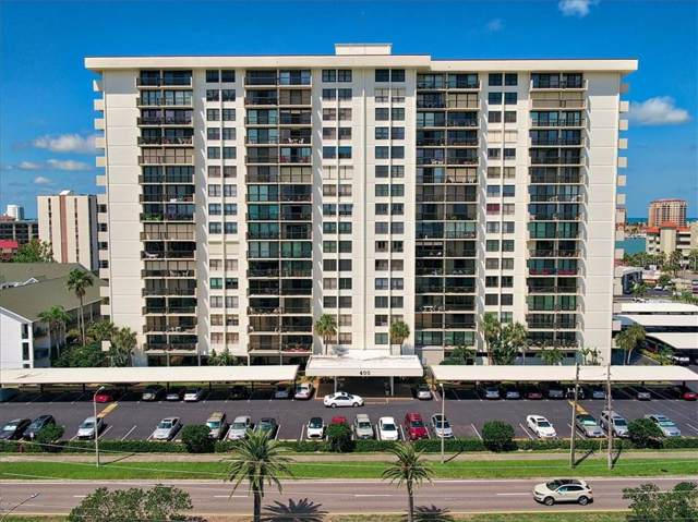 400 Island Way #810, Clearwater Beach, FL 33767 (MLS #U8056375) :: Kendrick Realty Inc