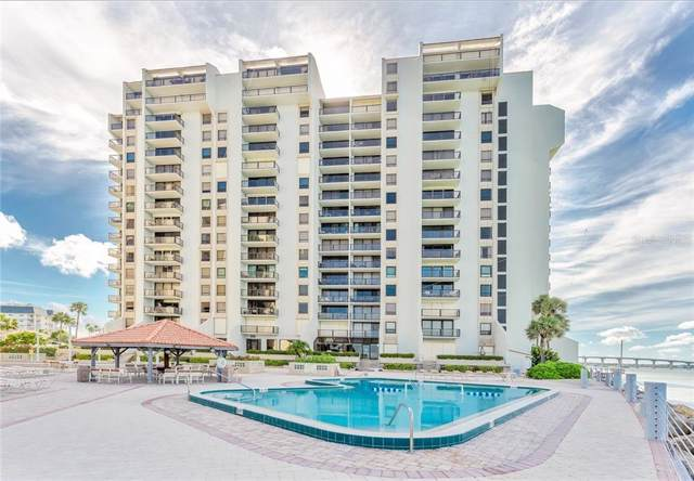 450 S Gulfview Boulevard #701, Clearwater Beach, FL 33767 (MLS #U8056497) :: Burwell Real Estate