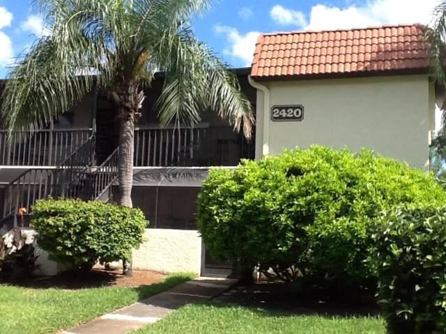2420 Winding Creek Boulevard #111, Clearwater, FL 33761 (MLS #U8056724) :: The A Team of Charles Rutenberg Realty