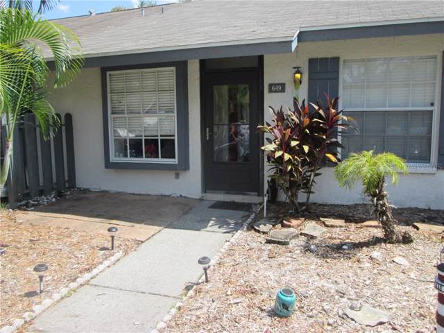 649 Laguna Vista Court, Largo, FL 33771 (MLS #U8059221) :: The Comerford Group