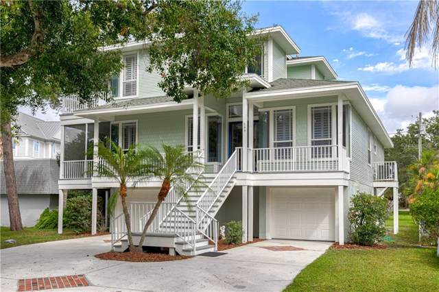 606 Indiana Avenue, Crystal Beach, FL 34681 (MLS #U8061451) :: Team Borham at Keller Williams Realty