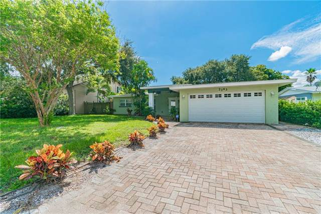 2143 Burnice Drive, Clearwater, FL 33764 (MLS #U8061757) :: The Robertson Real Estate Group