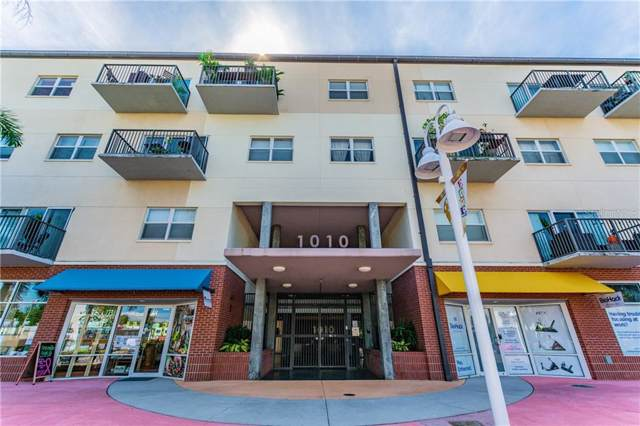 1010 Central Avenue #407, St Petersburg, FL 33705 (MLS #U8062084) :: Andrew Cherry & Company