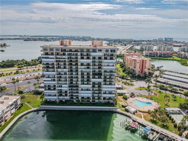 7300 Sun Island Drive S #1405, South Pasadena, FL 33707 (MLS #U8062739) :: Team Pepka