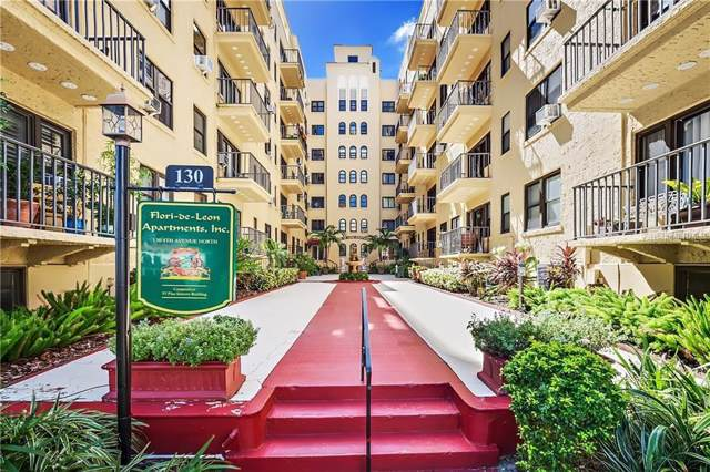 130 4TH Avenue N #402, St Petersburg, FL 33701 (MLS #U8062778) :: Andrew Cherry & Company