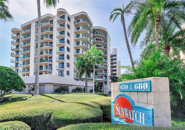 670 Island Way #905, Clearwater Beach, FL 33767 (MLS #U8062981) :: Burwell Real Estate