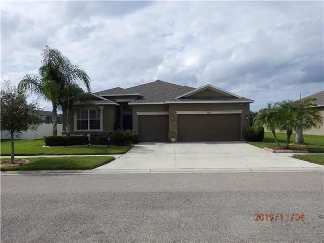 2419 Cumberland Cliff Drive, Ruskin, FL 33570 (MLS #U8063897) :: Team Bohannon Keller Williams, Tampa Properties