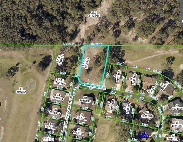 Cedarfield Drive, Dade City, FL 33523 (MLS #U8065013) :: Team Borham at Keller Williams Realty