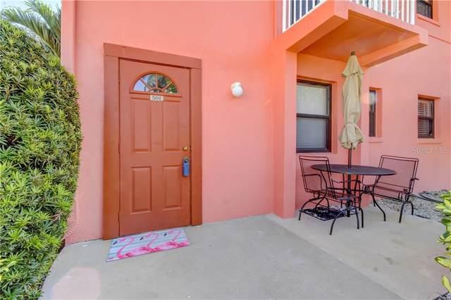 6800 Sunset Way #501, St Pete Beach, FL 33706 (MLS #U8067478) :: Lockhart & Walseth Team, Realtors
