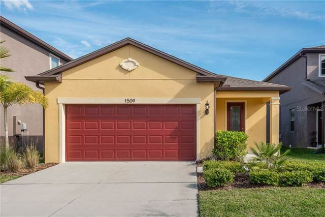 1509 Gadsden Point Place, Ruskin, FL 33570 (MLS #U8067827) :: Team Bohannon Keller Williams, Tampa Properties