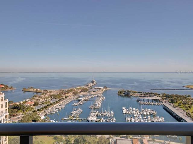 100 1ST Avenue N #2505, St Petersburg, FL 33701 (MLS #U8068075) :: Baird Realty Group
