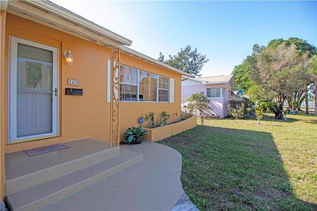 2420 8TH Avenue N, St Petersburg, FL 33713 (MLS #U8069462) :: Lockhart & Walseth Team, Realtors