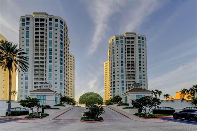 1180 Gulf Boulevard #406, Clearwater Beach, FL 33767 (MLS #U8074498) :: The Duncan Duo Team