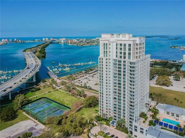 331 Cleveland Street #603, Clearwater, FL 33755 (MLS #U8075607) :: Griffin Group