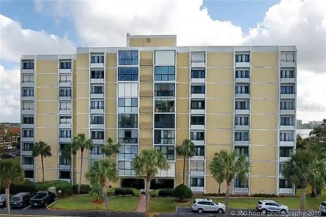 855 Bayway Boulevard #705, Clearwater, FL 33767 (MLS #U8075665) :: The Figueroa Team