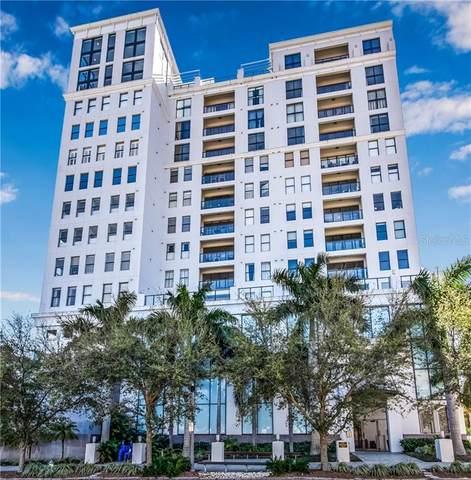 226 5TH Avenue N #906, St Petersburg, FL 33701 (MLS #U8076261) :: Lockhart & Walseth Team, Realtors