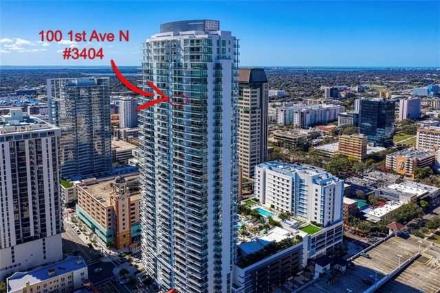 100 1ST Avenue N #3404, St Petersburg, FL 33701 (MLS #U8076440) :: Burwell Real Estate
