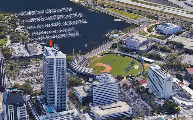 175 1ST Street S #2503, St Petersburg, FL 33701 (MLS #U8077386) :: Lockhart & Walseth Team, Realtors