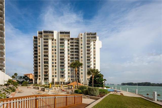 450 S Gulfview Boulevard #801, Clearwater Beach, FL 33767 (MLS #U8078209) :: Burwell Real Estate