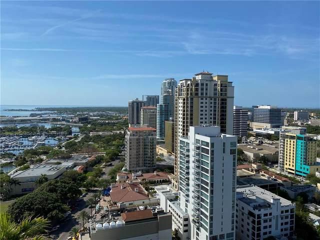400 Beach Drive NE #2506, St Petersburg, FL 33701 (MLS #U8079205) :: Baird Realty Group