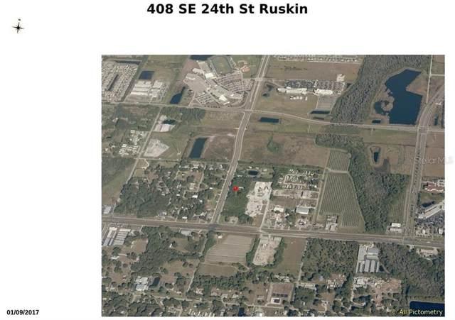 408 24TH Street SE, Ruskin, FL 33570 (MLS #U8080285) :: The Robertson Real Estate Group