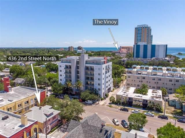 436 2ND Street N, St Petersburg, FL 33701 (MLS #U8084828) :: The Light Team