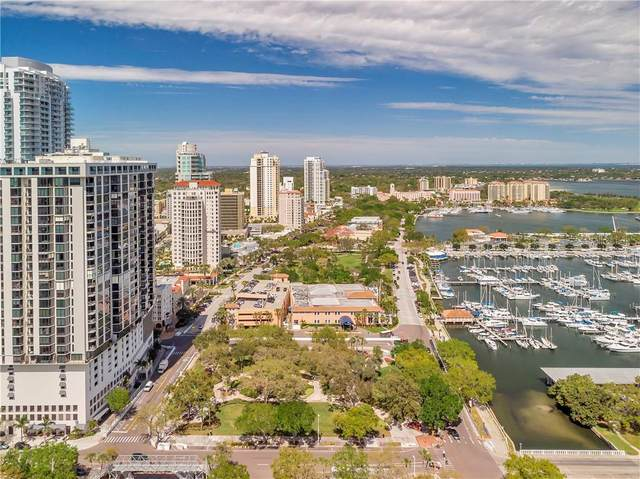 1 Beach Drive SE #1909, St Petersburg, FL 33701 (MLS #U8085464) :: Lockhart & Walseth Team, Realtors