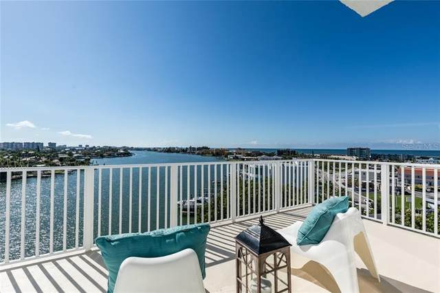 285 107TH Avenue #801, Treasure Island, FL 33706 (MLS #U8085595) :: Sarasota Gulf Coast Realtors