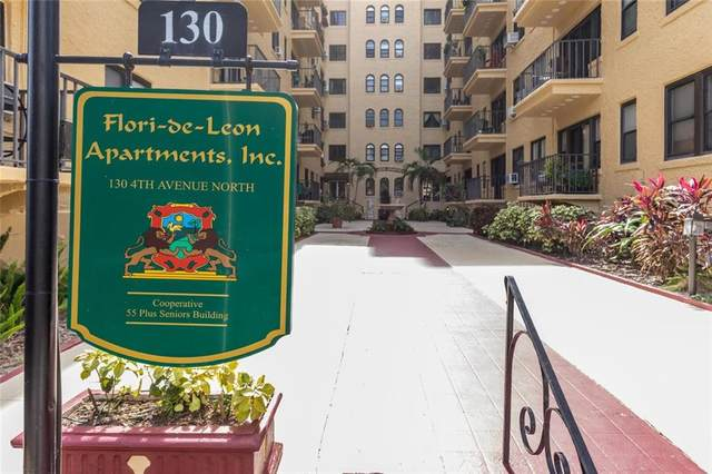 130 4TH Avenue N #509, St Petersburg, FL 33701 (MLS #U8085914) :: Lockhart & Walseth Team, Realtors