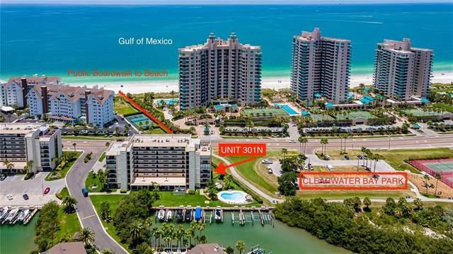 1581 Gulf Boulevard 301N, Clearwater, FL 33767 (MLS #U8086544) :: Lockhart & Walseth Team, Realtors