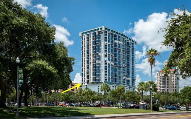 1 Beach Drive SE #808, St Petersburg, FL 33701 (MLS #U8089732) :: Team Bohannon Keller Williams, Tampa Properties