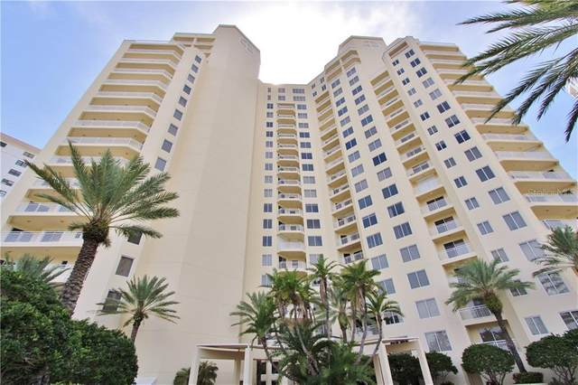 1200 Gulf Boulevard #1006, Clearwater, FL 33767 (MLS #U8090176) :: Griffin Group