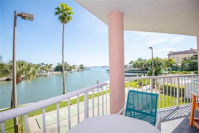 5445 Gulf Boulevard #203, St Pete Beach, FL 33706 (MLS #U8092575) :: Medway Realty