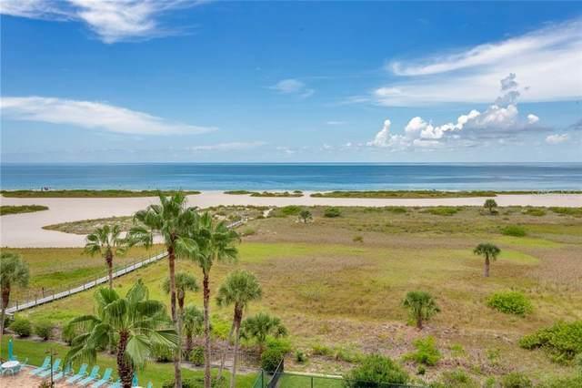 1250 Gulf Blvd #606, Clearwater, FL 33767 (MLS #U8094118) :: Cartwright Realty
