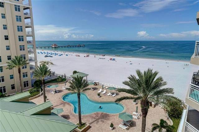 11 San Marco Street #805, Clearwater Beach, FL 33767 (MLS #U8094634) :: Your Florida House Team