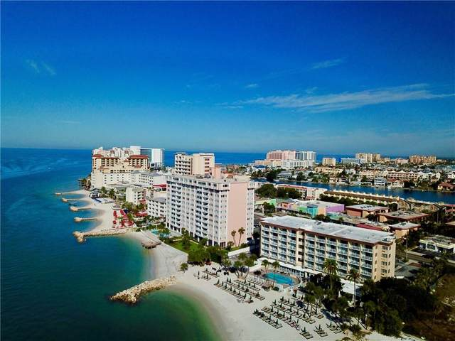 675 S Gulfview Boulevard #1203, Clearwater Beach, FL 33767 (MLS #U8095410) :: Team Borham at Keller Williams Realty