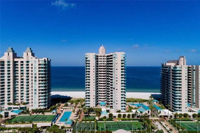 1540 Gulf Boulevard Ph7, Clearwater, FL 33767 (MLS #U8095996) :: The Light Team