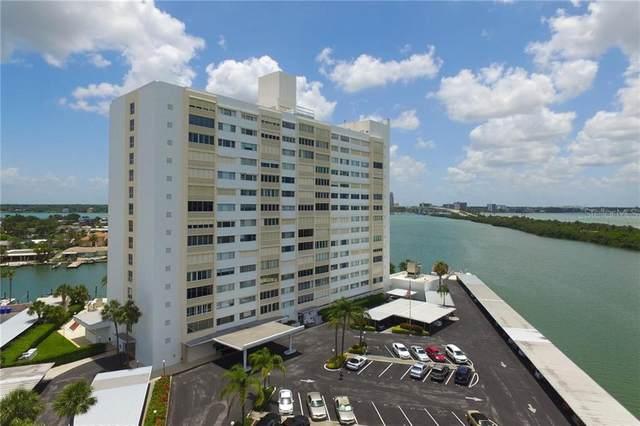 31 Island Way #503, Clearwater, FL 33767 (MLS #U8098525) :: The Light Team