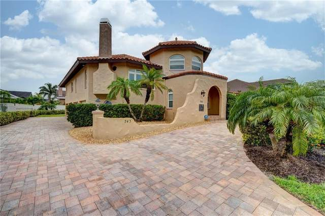 743 Columbus Drive, Tierra Verde, FL 33715 (MLS #U8098537) :: Rabell Realty Group