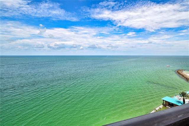440 S Gulfview Boulevard #1407, Clearwater, FL 33767 (MLS #U8098963) :: Burwell Real Estate