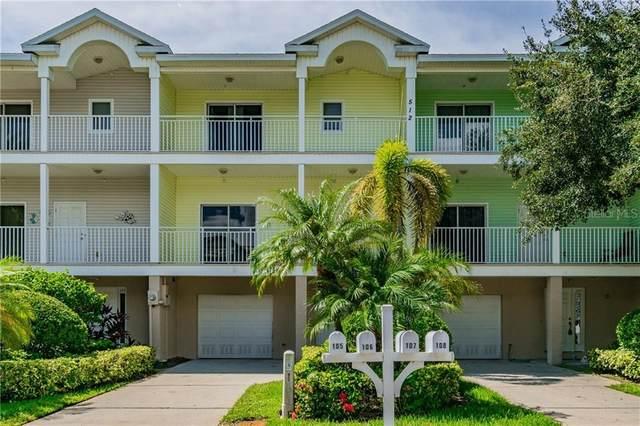 512 1ST Street #106, Indian Rocks Beach, FL 33785 (MLS #U8099661) :: Griffin Group