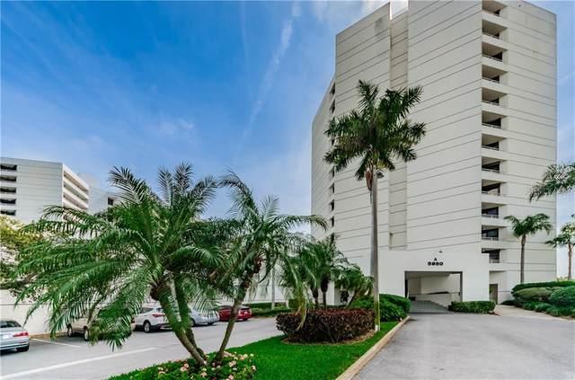 5950 Pelican Bay Plaza S #802, Gulfport, FL 33707 (MLS #U8100036) :: Premium Properties Real Estate Services